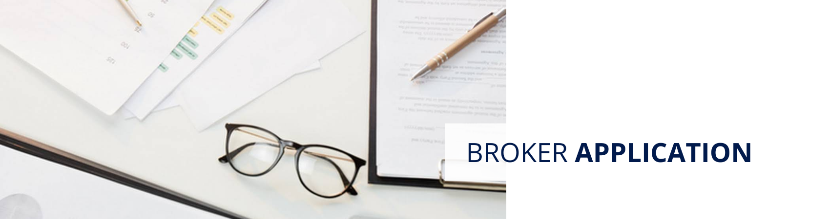 Broker Application Page